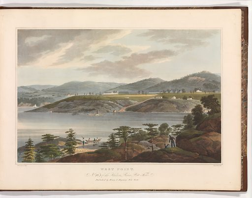 The Hudson River Portfolio (1821–25). Accession number: 54.90.1274(1–20).
