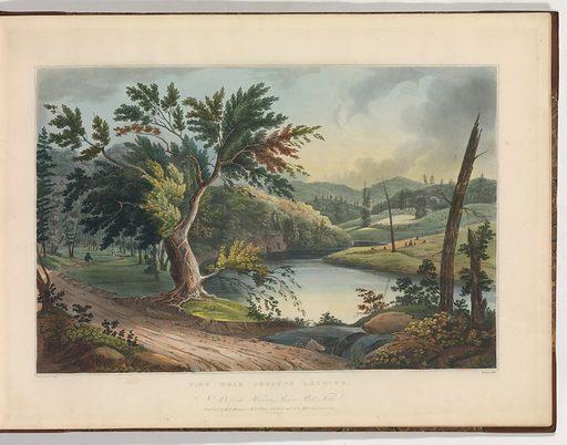 The Hudson River Portfolio (1821–25). Accession number: 54.90.1274(1-20).