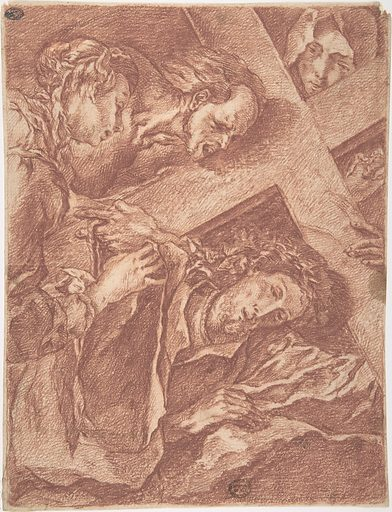 Christ Carrying the Cross (18th century). Accession number: 80.3.553.