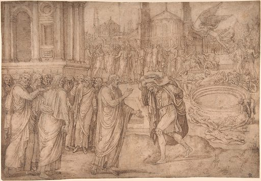 Christ Healing at the Pool of Bethesda (16th century). Accession number: 1975.131.241.