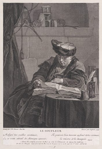 The Philosopher (1744). Accession number: 53.600.532.
