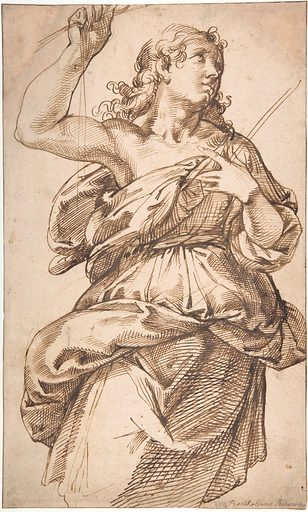An Angel (1529–92). Accession number: 64.197.1.