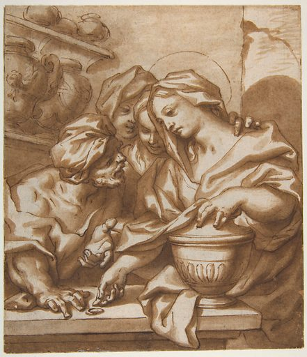 Mary Magdalen Buying Ointment (1666–1724). Accession number: 80.3.471.