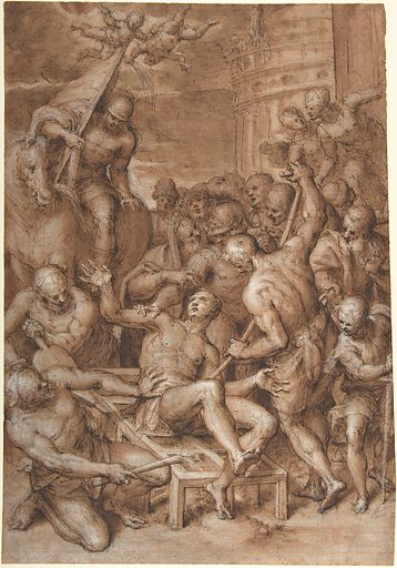 The Martyrdom of Saint Lawrence (1580s–early 1590s). Accession number: 1986.16.