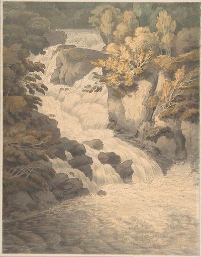 Cascade of the Aray at Inveraray (Scotland) (June 30, 1791). Accession number: 1972.67.