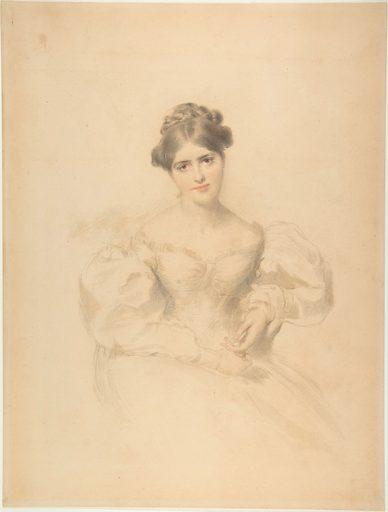 Frances Anne (Fanny) Kemble (19th century). Accession number: 48.149.20.