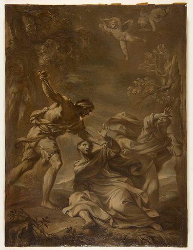 Death of Saint Peter Martyr (1667–1748). Accession number: 1989.185.