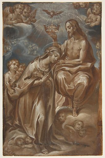 The Coronation of the Virgin (1605). Accession number: 1989.59.
