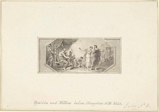 Tymicha and Millius before Dionysius (1790–1800). Accession number: 33.69.12.