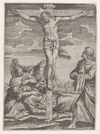 The Crucifixion (1582). Accession number: 59.600.30.