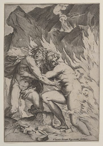 Orpheus and Eurydice (ca. 1590–95). Accession number: 17.37.170.