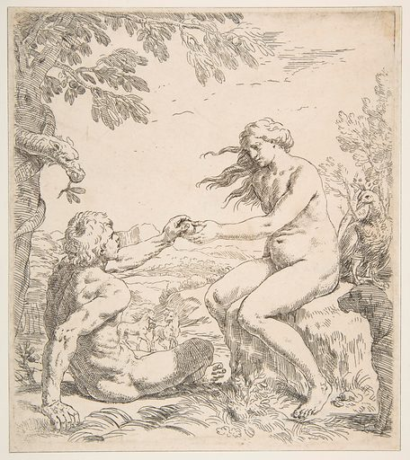 Adam and Eve (ca. 1639). Accession number: 17.3.1857.