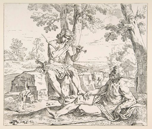 Mercury and Argus (ca. 1630–1648). Accession number: 26.70.4(143).