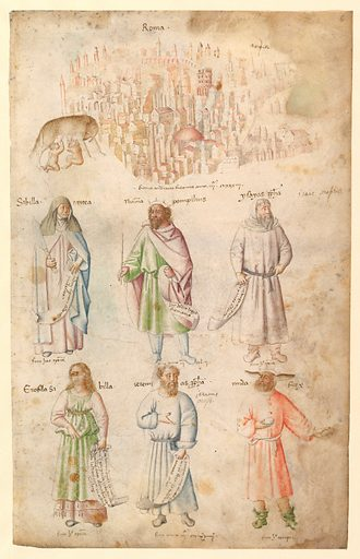 Famous Men and Women from Classical and Biblical Antiquity. (1450s). Accession number: 58.105.