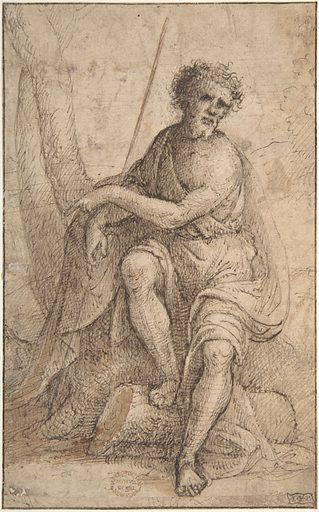 Saint John the Baptist (1550 ?). Accession number: 06.1051.10.