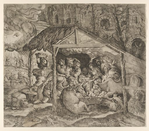 Nativity (ca. 1543). Accession number: 1996.8.