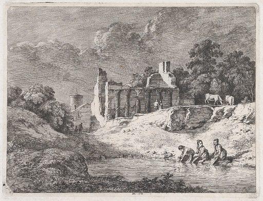 Washerwomen (1773). Accession number: 2000.361.7.