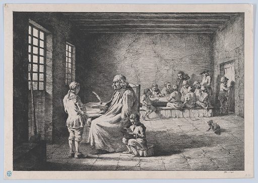 The School Master (1780). Accession number: 2000.361.11.
