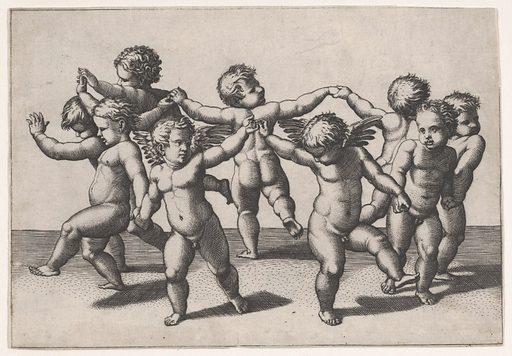 Putti dancing in a circle (ca. 1517–20). Accession number: 17.50.89.