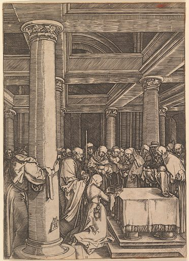 The presentation of Jesus to Simeon in the temple, after Dürer (ca. 1500–1534). Accession number: 17.3.3311.