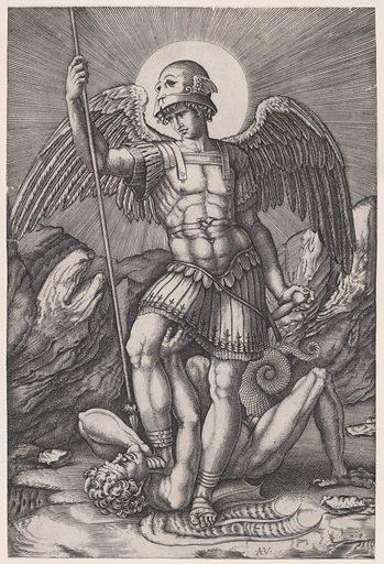 Saint Michael (ca. 1514–16). Accession number: 17.50.16-82.