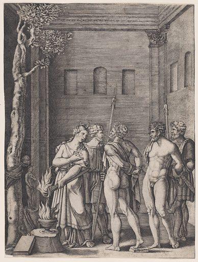 Iphigenia (ca. 1514–36). Accession number: 17.50.16-15.