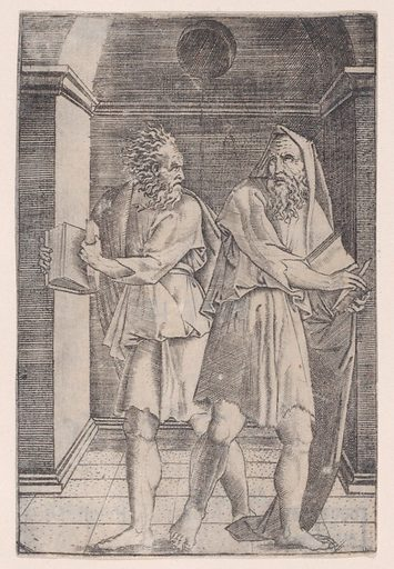 The Philosophers. Date: ca 1514–36. Accession number: 4997150.