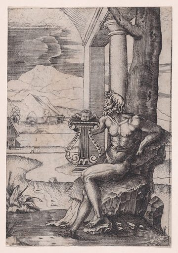 Man with a Lyre (ca. 1514–36). Accession number: 49.97.156.