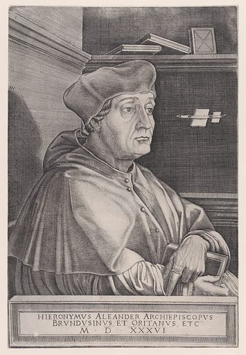 The Archbishop of Brindisi (dated 1536). Accession number: 49.97.175.