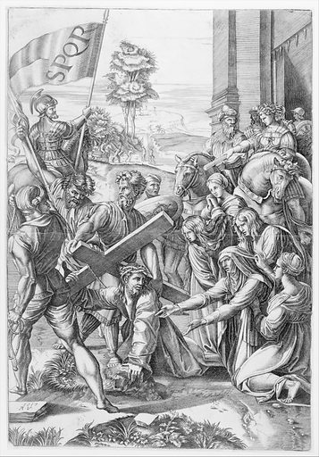 The Bearing of the Cross (1517). Accession number: 49.97.8.