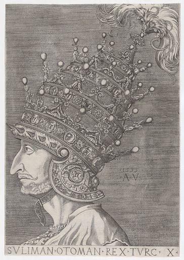 Suleiman II (1535). Accession number: 49.97.176.