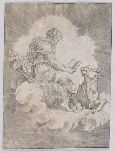 Saint Luke (ca. 1514–36). Accession number: 51.501.630.
