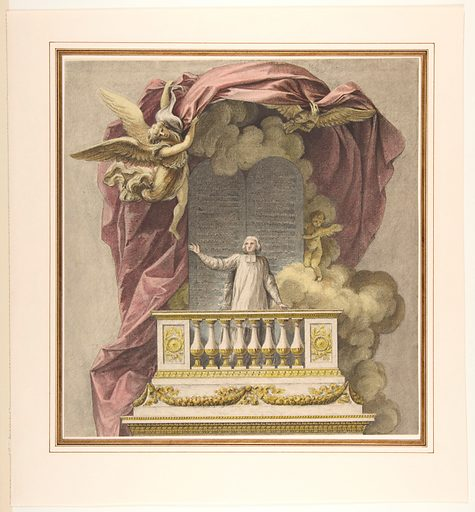 Design for a Pulpit (n.d.). Accession number: 1970.736.37.