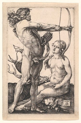 Apollo and Diana (ca. 1503). Accession number: 19.73.76.