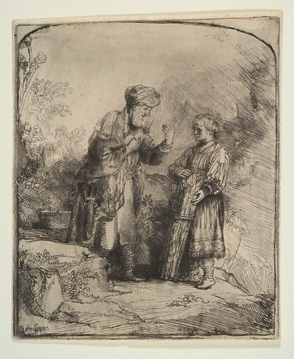 Abraham and Isaac (1645). Accession number: 29.107.26.