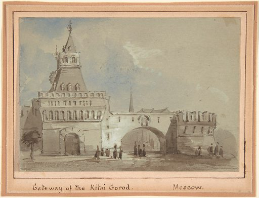 Gateway of the Kitai Gorod, Moscow (19th century). Accession number: 2000.632.1.