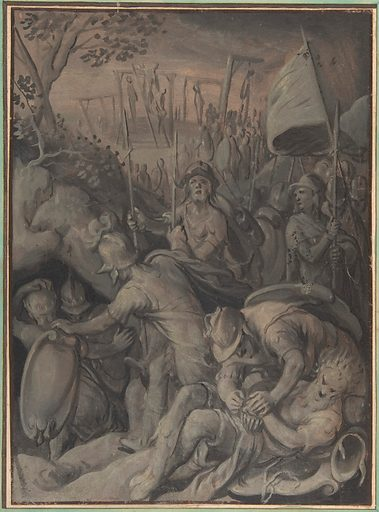 Execution of the Five Kings of the Amorites (1533–74). Accession number: 2001.109.