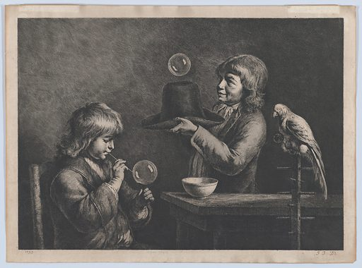 Soap Bubbles (1799). Accession number: 2001.313.