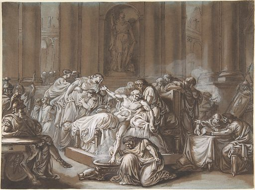 The Death of Seneca (n.d.). Accession number: 2001.453.