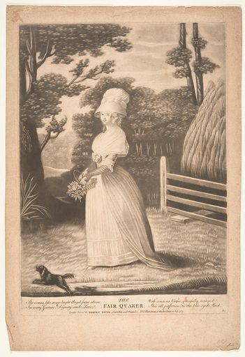 The Fair Quaker (July 11, 1787). Accession number: 63.533.2.