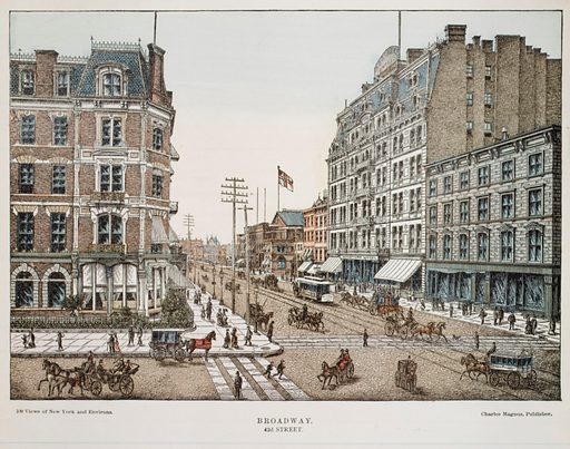 Broadway at 42nd Street, New York (1850–1900). Accession number: 54.90.1287.