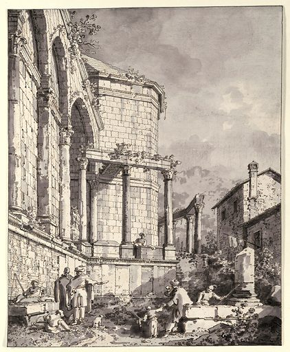 Ruins of the Palace of the Emperor Diocletian at Spalatro in Dalamatia (1764). Published in London, England. Accession number: 41.100.176.