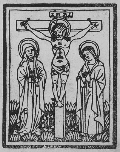 Ars Moriendi La Historia del iudicio del figliolo de dio Iesu Christo (ca 1495). Accession number: 22.76.1.