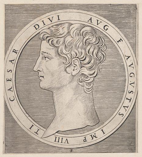 Speculum Romanae Magnificentiae: Tiberius, from The Twelve Caesars (ca. 1500–1534). Accession number: 41.72(3.85).