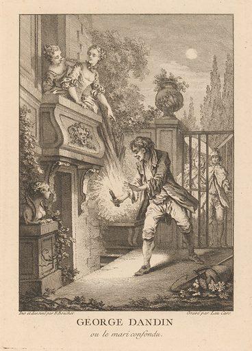 Gravures de Boucher pour les Oeuvres de Molière [Figures de Boucher pour Molière] (mid-18th century). Printed Paris, France. Accession number: 42.24.