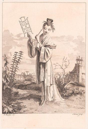 Suite de Figures Chinoises. . . Tiré du Cabinet de Mr. d'Azaincourt (1755–76). Accession number: 53.600.1017(1-6).