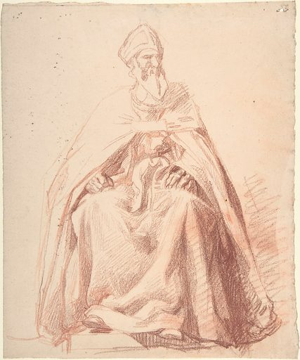 Seated Prelate (1830–71). Accession number: 1991.96.1.
