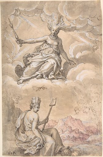 Allegory of Air and Earth (1618). Accession number: 2001.530.