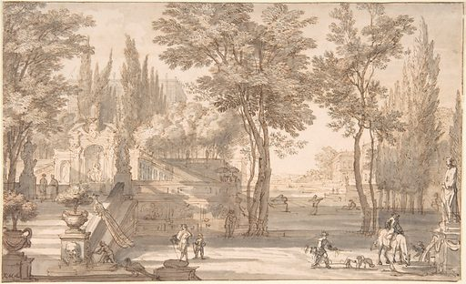 Classical Landscape (n.d.). Accession number: 1971.281.