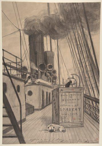 "Frontispiece for ""Eaux-fortes de Guérard, Collection de Mr. S. P. [Samuel Putnam] Avery, New York"" (late 19th century). Accession number: 67.844.3."
